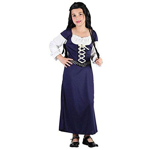 Maid Marion Fancy Kleid Mädchen Mittelalter Kostüm Tudor Mädchen Buch Tag Kostüme (Mädchen Mittelalter Kleid Kostüm)