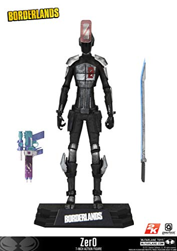 (Borderlands 13041 Zero-Action-Figur, 17,8 cm)