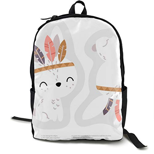 nny Plushie Softie Cutu0026sew Adult Premium Travel Backpack, Water-Resistant College School Bookbag, Sport Daypack, Outdoor Rucksack, Laptop Bag for Men&Women ()