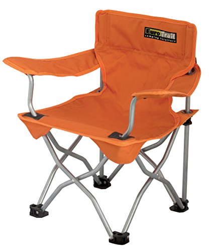 Euro Trail Ardeche Kinderstuhl Faltsuhl Campingstuhl 3 Farben (orange)