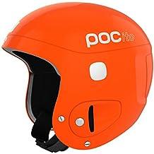 POC POCito Skull - Casco de esquí unisex, color naranja, talla única