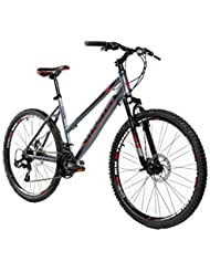 "Moma Bikes Bicicleta Montaña SHIMANO GTW 26""Alu, 24V, Doble Freno Disco, Susp. Delant. (Varias Tallas)"