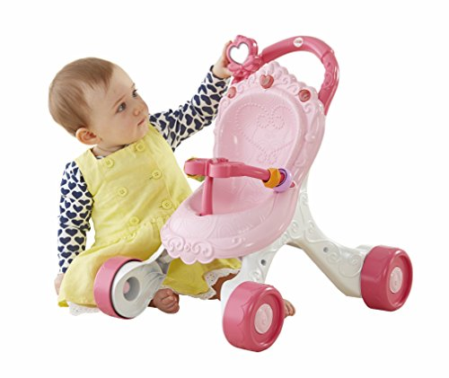 Image of Fisher-Price Stroll-Along Musical Walker