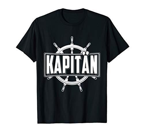 Segelschiff T-Shirt I Geschenk Kapitän Segeln Boot Sailing