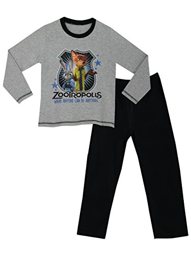 Disney-Zootopia-Pijama-para-Nios-Zootrpolis