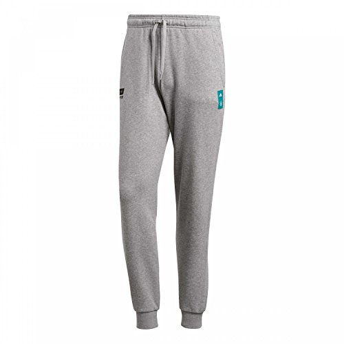 adidas Herren DFB Street Graphic Sweat Pant Jogginghose, core Heather/Black, M