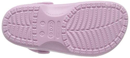 Crocs Baya K - Zoccoli e sabot unisex Rosa (Ballerina Pink)