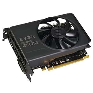 EVGA NVIDIA GTX 750 1020MHz (Boost 1085MHz) 5012MHz 1GB 128-bit GDDR5 HDMI DVI-I DP PCI-E Graphics Card