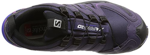 Salomon Xa Pro 3d Gtx, Scarpe da Trail Running Donna Viola (Nightshade Grey/Black/Spectrum Blue)