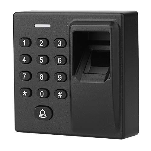 ASHATA Tür Zutrittskontrollsystem, RFID-Karte+Biometrische Fingerabdruck+Passwort Access Control System,Tür Zugriffskontrolle Sicherheit Tor Eintrag Codeschloss Türöffner für Zuhause/Büro/Gebäude