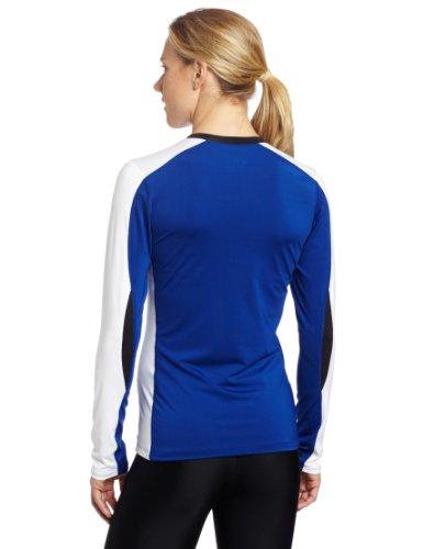 Asics Femme Rouleau de prise de vue en jersey bleu roi/blanc