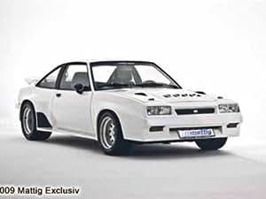 Mattig MATTIG Pièce centrale spoiler av. pour Opel Manta B 400-Look, An:: 1975-1988