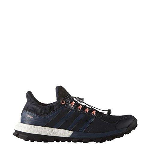 adidas Raven W, Chaussures de Running Entrainement Femme Multicolore - Azul / Rojo (Azumin / Maosno / Brisol)