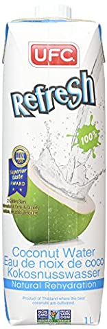 UFC Refresh Coconut Water 1 Litre (Pack of 6)