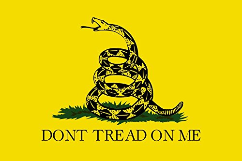 Oyster-Flag Dont Tread on Me Outdoor Flagge 150x 90cm/5x 3ft (Gadsden) (DTOM)