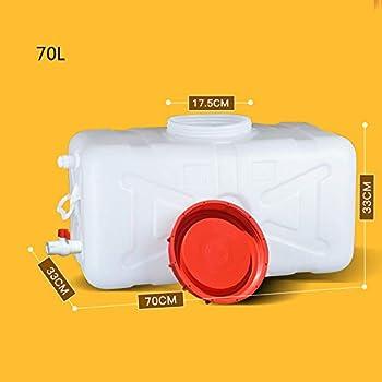 WOGG 25-150L Portable bidon deau avec Robinet R/éservoir deau de Voiture en Plastique /épais r/écipient de Stockage deau en Plein air Seau deau Chimique Barrel for Camping Voyage Size : 25L