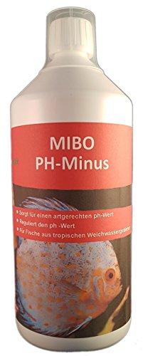 MIBO PH Minus 1000ml Aquarium Wasseraufbereiter PH-Wert Regulator für weiches Wasser