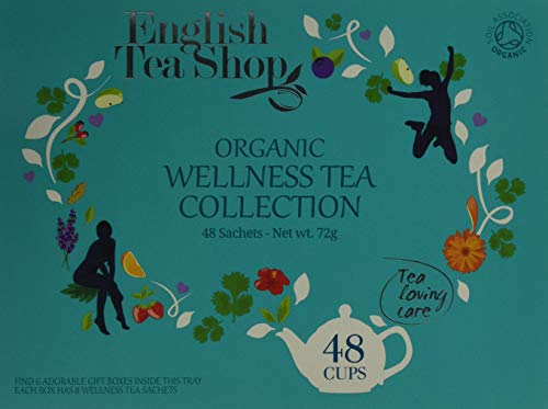 English Tea Shop Organic Wellness Collection Tea Bag Gift Tray