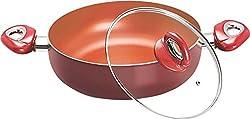 Eris NON STICK COOKWARE 26cm DEEP FRY PAN/KADAI EDF671