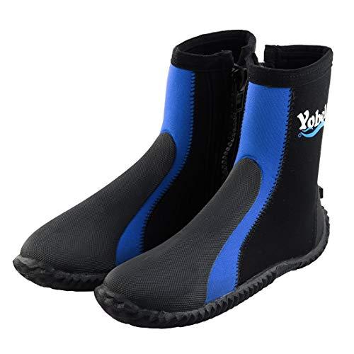 Miki&Co Outdoor Tauchen Surfen Strand Rutschfeste Neoprenanzüge Wasser Schuhe Stiefel blau US 9 Paar DE