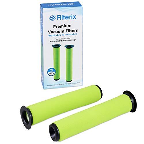 Gtech Filter Kompatible Ersatzteile für AirRam MK2 & Air Ram MK2 K9 Staubsauger - 2 Stück