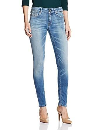 Replay Luz, Jeans Femme, Bleu (Blue Denim), W24/L30 (Taille Fabricant: 24)