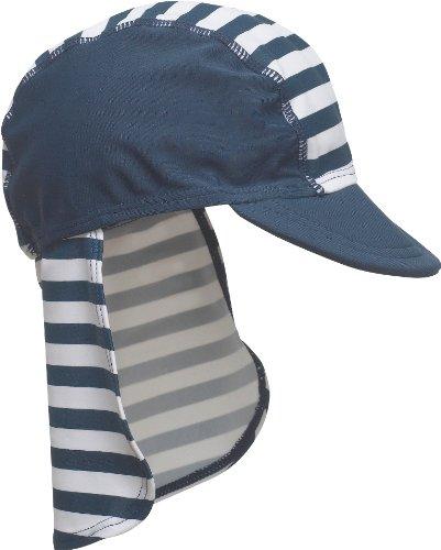 Playshoes Jungen Bademütze Maritim von Playshoes mit UV-Schutz nach Standard 801 und Oeko-Tex Standard 100, Gr. (Herstellergröße: 51), Mehrfarbig (original) Badeanzug Für Jungen Mit Uv Schutz