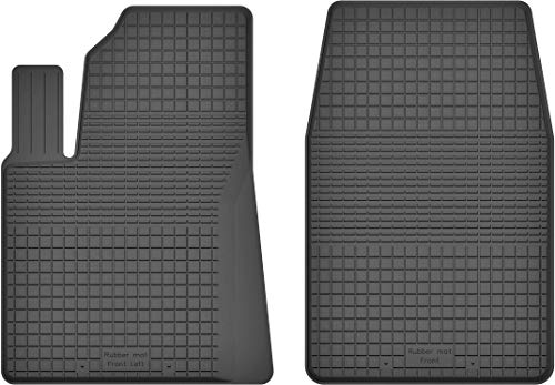 Fußmatten Gummimatten Winter Auto-matten Gummi hoher Rand 2-teilig Set Satz vorn
