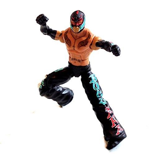 wwf-wwe-wrestling-rey-mysterio-6-mattel-elite-series-figure-rare-not-boxed