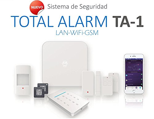Kit de Alarma SIN cuotas Domótica TA-1 (WiFi + LAN + GSM) ▶ ★★★★★ ¡TU Seguridad en TU mano, SIN cuotas y SIN límites! ★★★★★