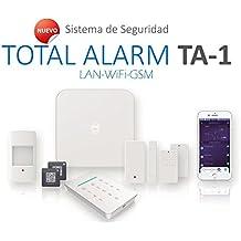 Kit de Alarma SIN cuotas Domótica TA-1 (WiFi + LAN + GSM)