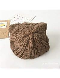 XDXDWEWERT Sombreros y Gorros de otoño e Invierno para niños con Orejas de  Gato 63831850481