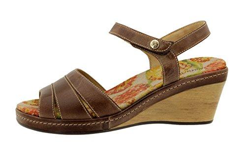 Scarpe donna comfort pelle Piesanto 4951 sandali comfort larghezza speciale