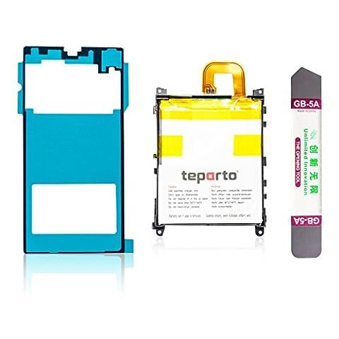 teparto Akku für Sony Xperia Z1 inkl. Kleber für Backcover und Öffnungswerkzeug