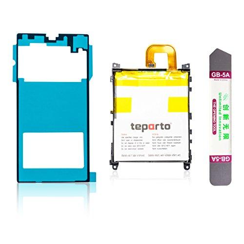 teparto Akku für Sony Xperia Z1 inkl. Kleber für Backcover und Öffnungswerkzeug -