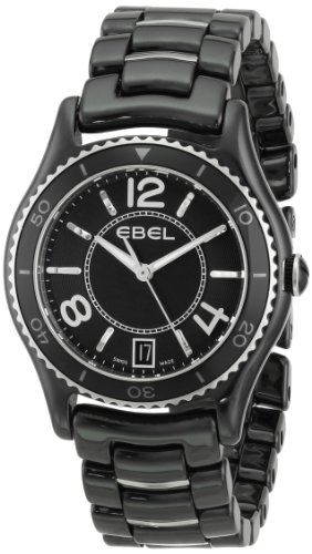 EBEL Women's 1216142 X-1 Analog Display Swiss Quartz Black Watch