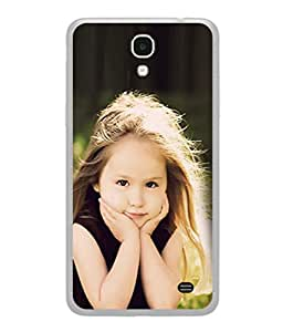 PrintVisa Designer Back Case Cover for Samsung Galaxy Mega 2 SM-G750H (So Sweet Cute Little Girl Design)