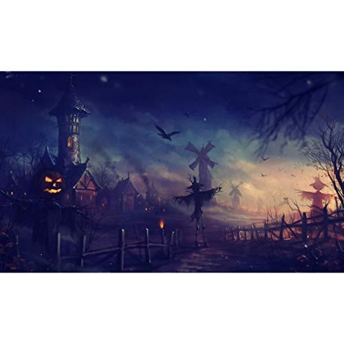 OverDose Damen Halloween 5D Stickerei Gemälde Strass Kleben -