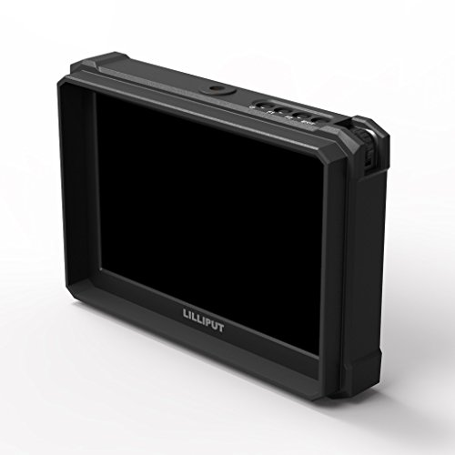 nero Lilliput A7S-2 7 pollici 1920×1200 IPS Screen Camera Field Monitor 4K HDMI Input output Video For DSLR Mirrorless Camera SONY A7 A7R A7S II A6500 Panasonic GH4 GH5 Canon 5D IV 6D 7D 70D 80D NIKON - 8