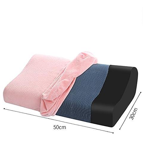 LI JING SHOP - Espace mémoire Oreiller / Slow Rebound Mémoire Oreiller Cou Vertebral Oreiller / Memory Foam Protéger Le cou Soins de santé Coussin Oreiller Core ( Couleur : G-Magnetic cloth )