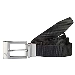 Puma Mens Leather Belt (4056204911457_5300501_Black)