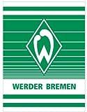 SV Werder Bremen Fleecedecke, Decke Streifenspiel