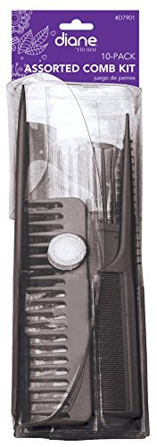 Diane Assorted 10 Peice Comb Set by Stylex