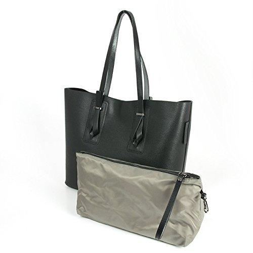 "Shopping bag in pelle saffiano, Gianni Chiarini ""Capsule collections"" , made in Italy"