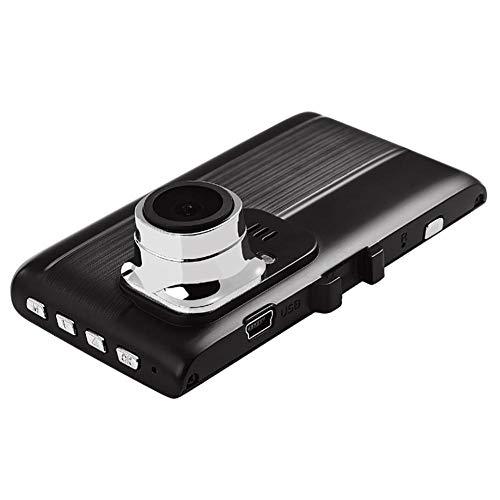 1080P HD Treibender Recorder Autokameras Overhead Videogeräte Dashcam Video Recorder A70A Fahrrecorder 3 Zoll Bildschirm Vorder und Rückseite Doppelaufnahme WDR Starlight Nachtsicht Mobile Erkennung