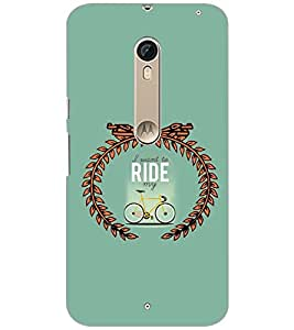 PrintDhaba QUOTE D-7040 Back Case Cover for MOTOROLA MOTO X PURE EDITION (Multi-Coloured)
