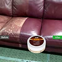 Dinglong Leather Repair Kit, Leather Conditioner for Furniture, Couch, Sofa, Boat, Car Seat, Jacket Restorer, All-Natural, Non-Toxic, Cosmetic Grade