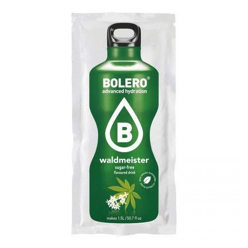 Bolero Drink - Waldmeister mit Stevia (12er Pack) - Aromatisiertes Wasser-pulver