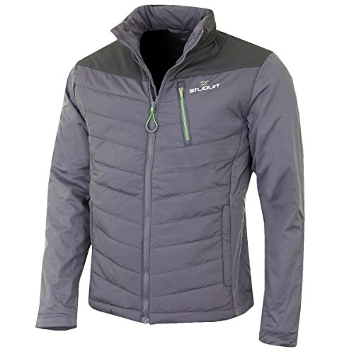 Stuburt 2016 Vapour Hybrid Full Zip Thermal Mens Waterproof Golf Jacket Storm XL