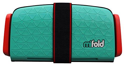 mifold Grab and Go Booster® silla de coche verde verde lima